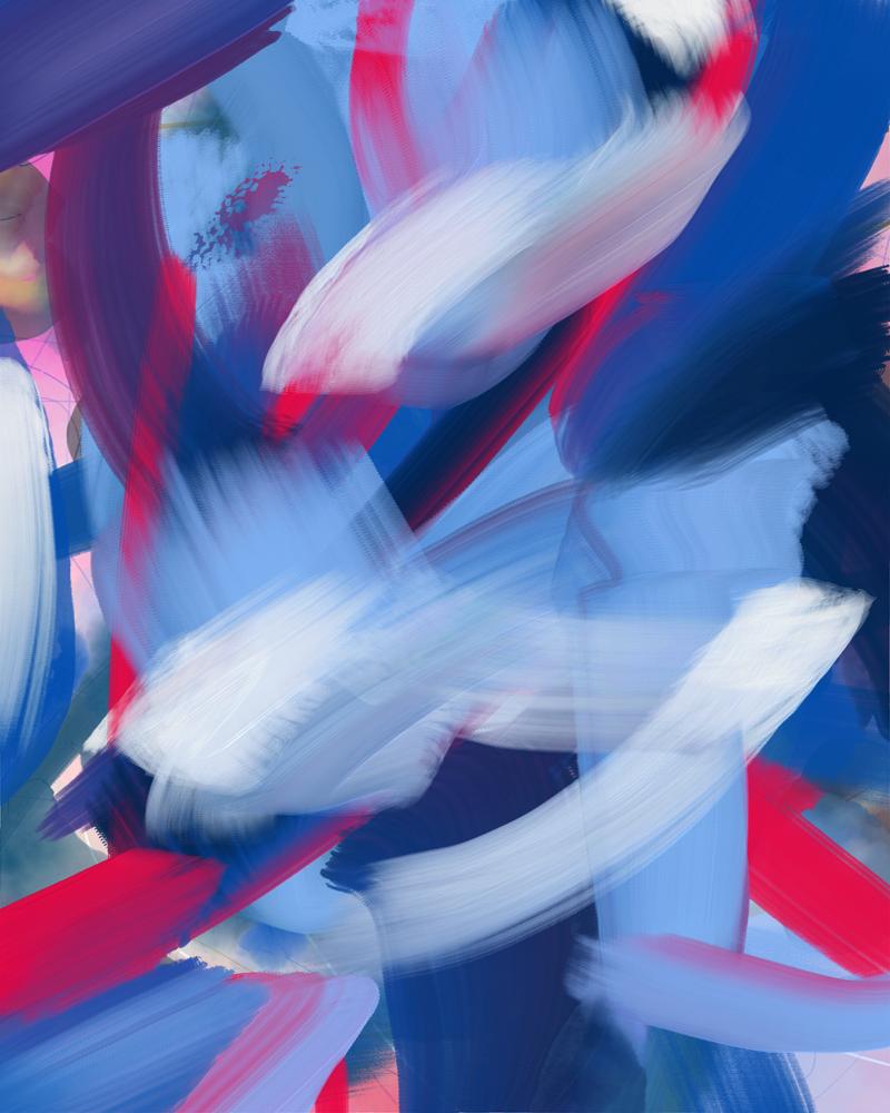 """15 April"" nonobjective digital painting"