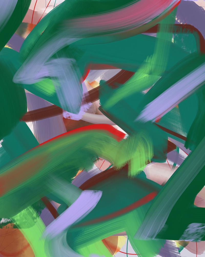 """""""21 May"""" digital painting"""