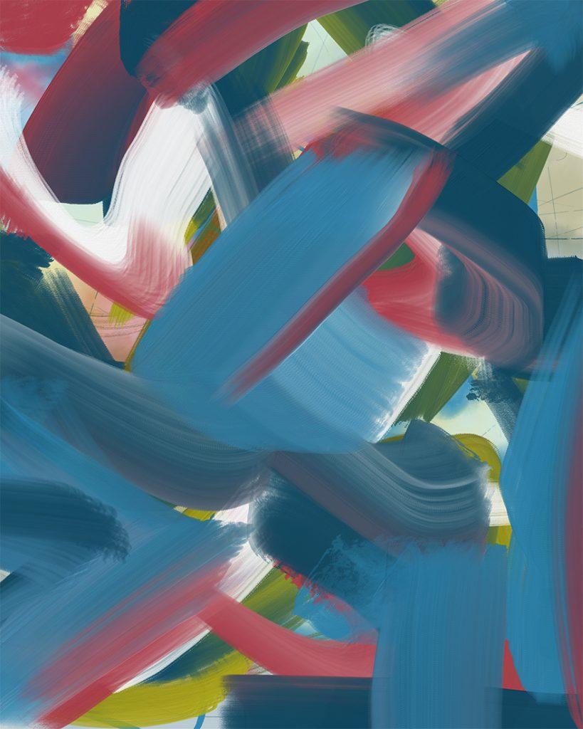 """23 June"" digital painting"